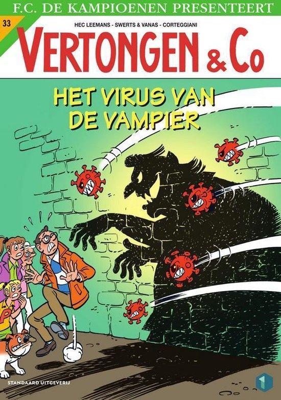 Hec Leemans,,Het virus van de vampier