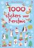 , 1000 stickers voor Kerstmis