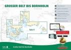 , Sportbootkarten Satz 4: Gro?er Belt bis Bornholm (Ausgabe 2018)