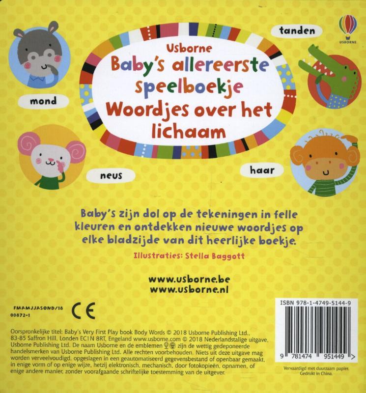 ,Baby`s allereerste speelboekje