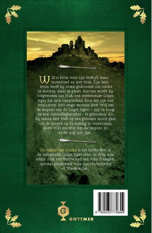 John Flanagan,De ruïnes van Gorlan