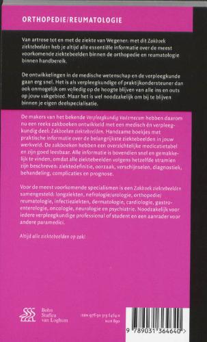 ,Zakboek Ziektebeelden Orthopedie Reumatologie