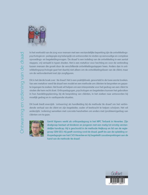 Gerrit Vignero,Ontwarring en ordening van de draad