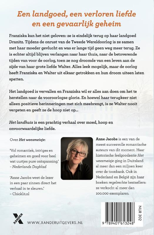 Anne Jacobs,Het landhuis