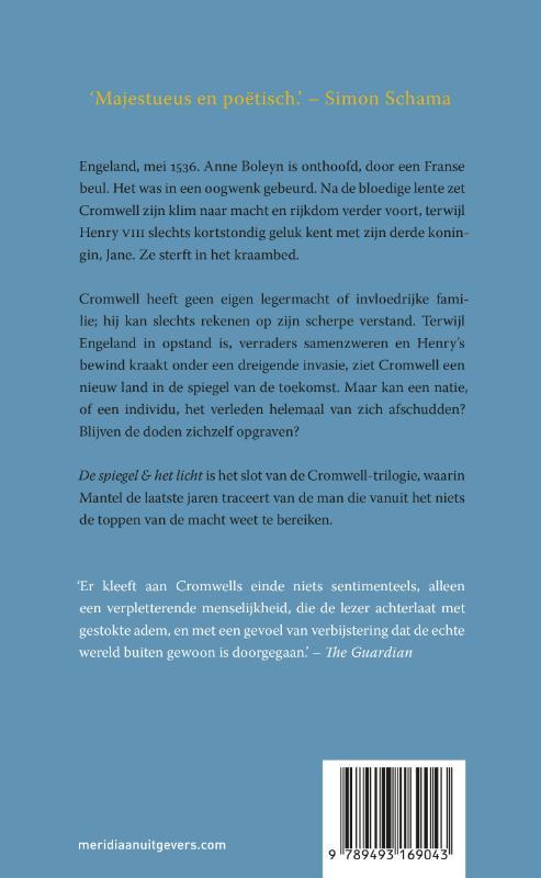 Hilary Mantel,De spiegel & het licht