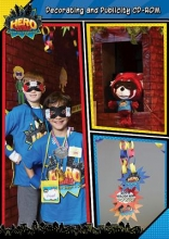 Vacation Bible School 2017 Vbs Hero Central Decorating and Publicity CD-ROM