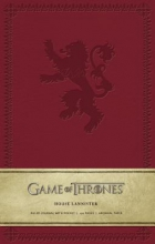 Game of Thrones - House Lannister Large Ruled Journal