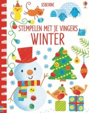 , Stempelen met je vingers Winter