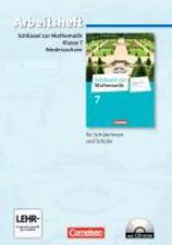 Koullen, Reinhold,Schlüssel zur Mathematik 7. Schuljahr. Arbeitsheft mit eingelegten Lösungen und CD-ROM. Differenzierende Ausgabe Niedersachsen