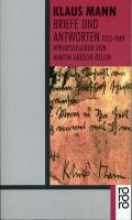 Mann, Klaus Briefe und Antworten 1922 - 1949
