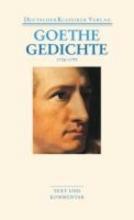 Goethe, Johann Wolfgang Gedichte 1756-1799