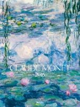 Claude Monet 2016. Kunst Gallery Kalender