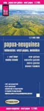 , Reise Know-How Landkarte Papua-Neuguinea, Indonesien: West-Papua, Molukken (1:2.000.000)