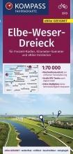 , KOMPASS Fahrradkarte Elbe-Weser-Dreieck 1:70.000, FK 3313