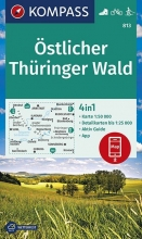 , Östlicher Thüringer Wald 1:50 000