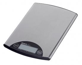 , Briefweger MAUL Steel tot 5000 gram zilver staal incl.batterij