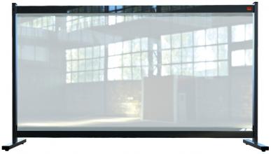 , Bureauscherm Nobo doorzichtig PVC 1470x860mm
