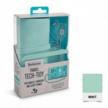 ,Bookaroo Travel Tech-Tidy - Mint