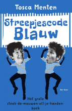 Tosca  Menten Streepjescode Blauw