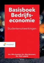 O.A. Leppink M.P. Brouwers  W. Koetzier, Basisboek bedrijfseconomie uitwerkingen