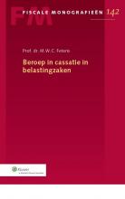 M.W.C. Feteris , Beroep in cassatie in belastingzaken