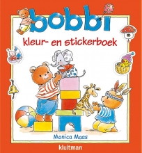 Monica Maas , Bobbi kleur- en stickerboek