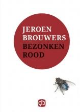 Jeroen  Brouwers Bezonken rood - grote letter uitgave