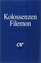 J. van Eck , Kolossenzen en Filemon
