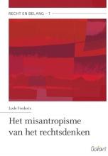 Lode Frederix , Het misantropisme van het rechtsdenken