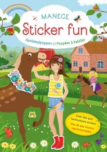 , Manege Sticker Fun - Aankleedpoppen Manege Sticker Fun - Poupées à habiller