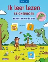 Saskia MARTENS , Ik leer lezen Stickerboek - Super Sam en de dino (AVI E3 AVI 2)