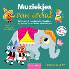 Marion Billet , Muziekjes van overal ( geluidenboekje)
