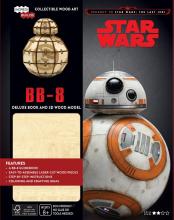 George  Lucas Star Wars BB-8 Deluxe Boek met houten model BB-8