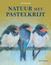 Loes Botman , Natuur met pastelkrijt