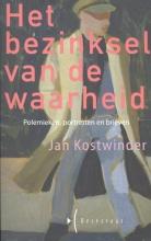 Jan  Kostwinder Het bezinksel van de waarheid