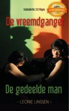 Leonie  Linssen Spiegelboek De vreemdganger De Gedeelde man. Deel 1 en 2 van de trilogie