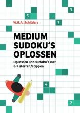 W.H.A. Schilders , Medium sudoku`s oplossen