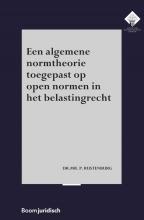 P. Rustenburg , Een algemene normtheorie toegepast op open normen in het belastingrecht