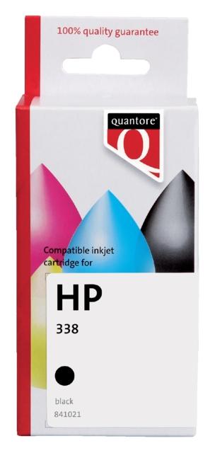 ,Inktcartridge Quantore HP C8765EE 338 zwart