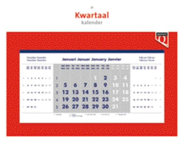 ,Kwartaalkalender 2022 Quantore