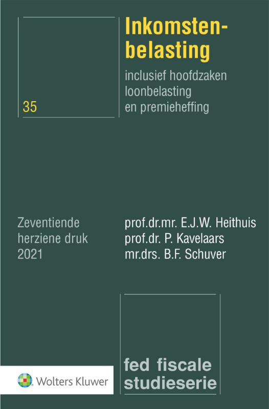 E.J.W. Heithuis,Inkomstenbelasting