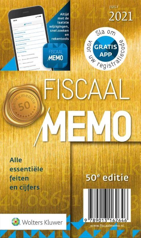 ,Fiscaal Memo juli 2021