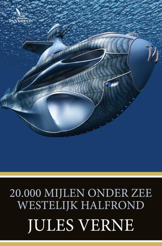 Jules Verne,20.000 mijlen onder zee Westelijk halfrond