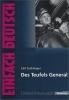 Zuckmayer Carl,   Ulrich, Udo,   Matt, Elinor,Des Teufels General. EinFach Deutsch Unterrichtsmodelle