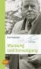 Foerster, Karl,Warnung und Ermutigung