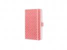 ,Notitieboek sigel jolie flair a6 lijn roze
