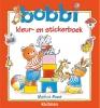 <b>Monica  Maas</b>,Bobbi kleur- en stickerboek