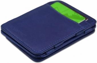 Hu-mw-cp1 blauw , Hunterson magic coin wallet rfid blauw