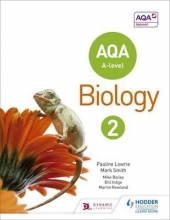 Pauline Lowrie,   Mark Smith AQA A Level Biology Student Book 2