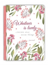 Ellie Claire Whatever Is Lovely Gratitude Journal